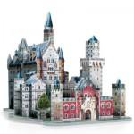 Wrebbit-3D-34506 Puzzle 3D - Allemagne : Château de Neuschwanstein