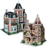 Wrebbit-Set-Lady 2 Puzzles 3D - Set Lady Jane et Lady Victoria