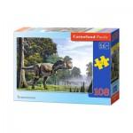 Puzzle  Castorland-010073 Tyrannosaure