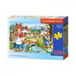 Puzzle  Castorland-010080 Le Petit Chaperon Rouge