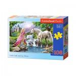 Puzzle  Castorland-010158 La Princesse et son Cheval