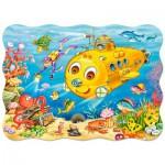 Puzzle  Castorland-03396 Joyeux sous-marin