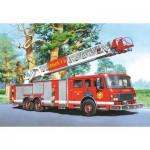 Puzzle  Castorland-06595 Camion de pompiers
