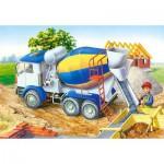 Puzzle  Castorland-06618 Le chantier