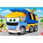 Castorland-08521-BP7 Mini Puzzle - Camion Benne
