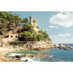 Puzzle  Castorland-100774 Lloret de Mar, Espagne