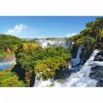 Puzzle  Castorland-101917 Les chutes d'Iguazú, Argentine