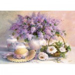 Puzzle  Castorland-102006 Le jour des fleurs