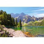 Puzzle  Castorland-102235 Morskie Oko, Hautes Tatras, Pologne