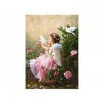 Puzzle  Castorland-102297 Le baiser de l'ange