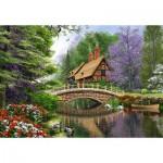 Maison au bord du fleuve 1000 pièces - Castorland