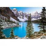 Puzzle  Castorland-102372 La perle des Rockies