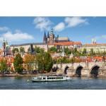 Puzzle  Castorland-102426 Prague