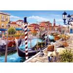 Puzzle  Castorland-103058 Canal de Venise, Italie