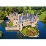Puzzle  Castorland-103072 Château de la Loire : Château de la Bretesche