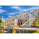 Puzzle  Castorland-103102 Peterhof Palace, St. Petersburg, Russie