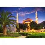 Puzzle  Castorland-103386 Mosquée Bleue, Turquie