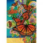 Puzzle  Castorland-103492 David Galchutt: Monarch Madness