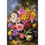 Puzzle  Castorland-103607 A Vase of Flowers