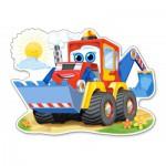 Puzzle  Castorland-120024 Bulldozer Joyeux