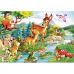 Puzzle  Castorland-12725 Le petit faon
