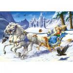 Puzzle  Castorland-12879 La reine des neiges