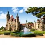 Puzzle  Castorland-150670 Le château Moszna, Pologne