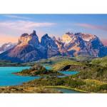 Puzzle  Castorland-150953 Torres del Paine, Patagonie