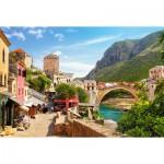 Vieille Ville de Mostar, Bosnie-Herzégovine 1500 pièces - Castorland