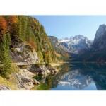 Puzzle  Castorland-200368 Lac de Gosau, Autriche