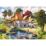 Puzzle  Castorland-200498 Le Moulin à Eau