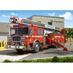 Puzzle  Castorland-27040 Camion de pompiers