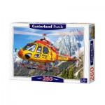 Puzzle  Castorland-27248 Hélicoptère de secours