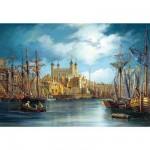 Puzzle  Castorland-300167 Nouveau jour au port