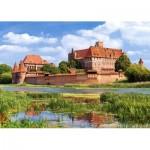 Puzzle  Castorland-300211 Malbork - Pologne