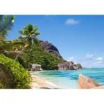 Puzzle  Castorland-300228 Plage tropicale