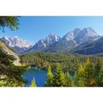 Puzzle  Castorland-300242 Lac alpin