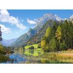Puzzle  Castorland-300273 Refuge aux Alpes