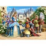 Puzzle  Castorland-30040 La Princesse et son Chevalier
