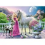 Puzzle  Castorland-30088 Mon Amie la Licorne