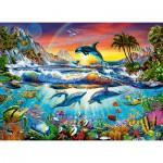 Puzzle  Castorland-30101 Paradis Marin