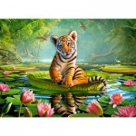 Puzzle  Castorland-30156 Tiger Lily