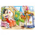 Puzzle  Castorland-3211 Blanche Neige et la sorcière