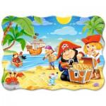 Puzzle  Castorland-3488 Le Trésor des Pirates