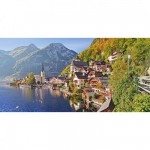 Puzzle  Castorland-400041 Hallstatt, Autriche