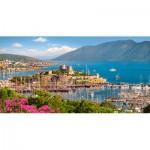 Puzzle  Castorland-400157 Bodrum Marina, Turkish Riviera