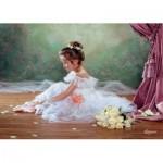 Puzzle  Castorland-51571 Ballerine faisant une pause