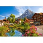 Puzzle  Castorland-52363 Kandersteg, Suisse