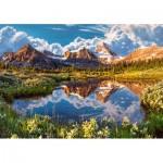 Puzzle  Castorland-52417 Mirror of the Rockies