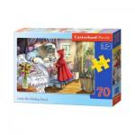 Puzzle  Castorland-B-007011 Le Petit Chaperon Rouge